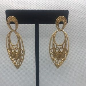 4 for $12: Beautiful Gold Tone Earrings
